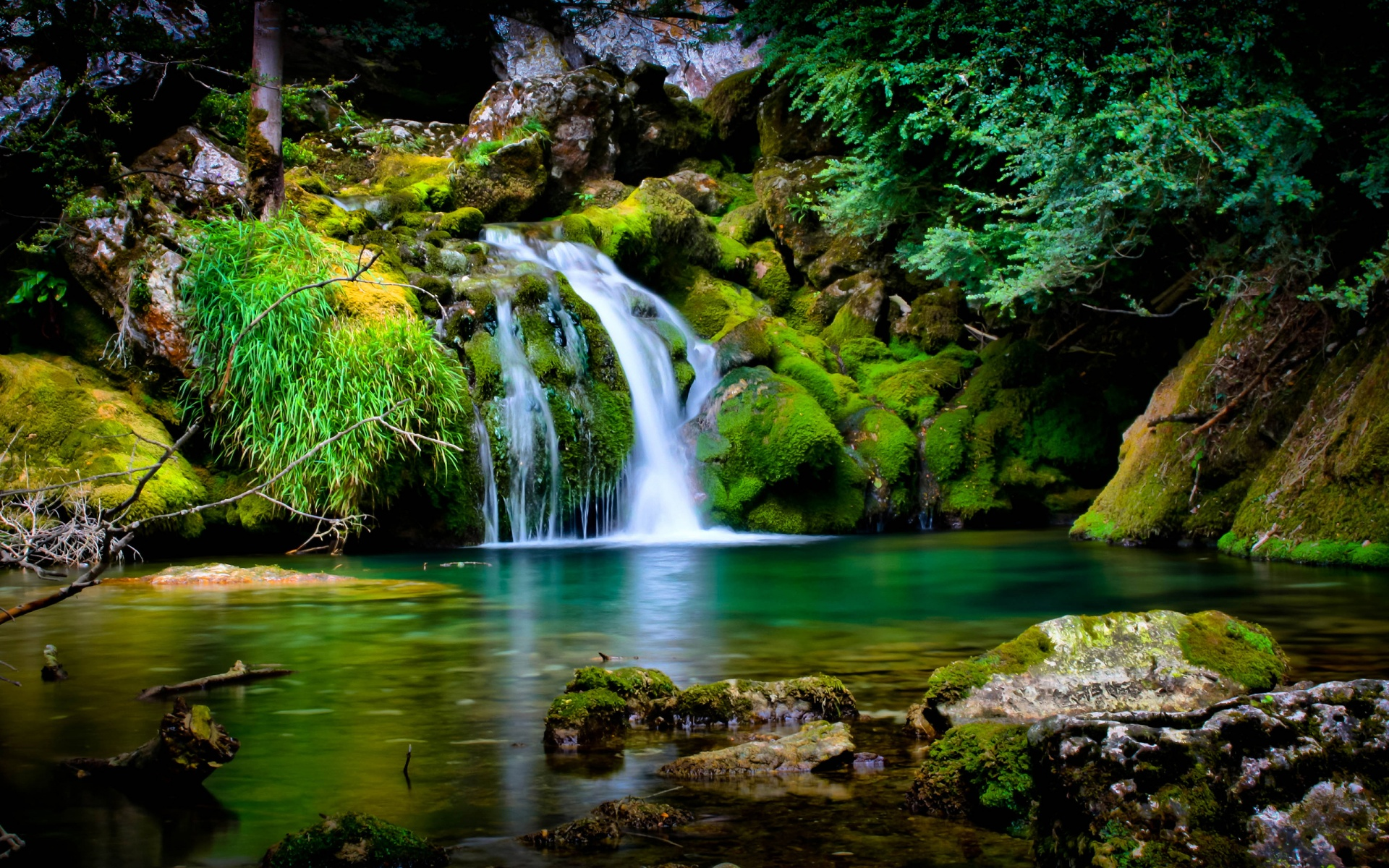 Computer Wallpaper | Waterfall-Wallpaper-desktop |HD Wallpapers