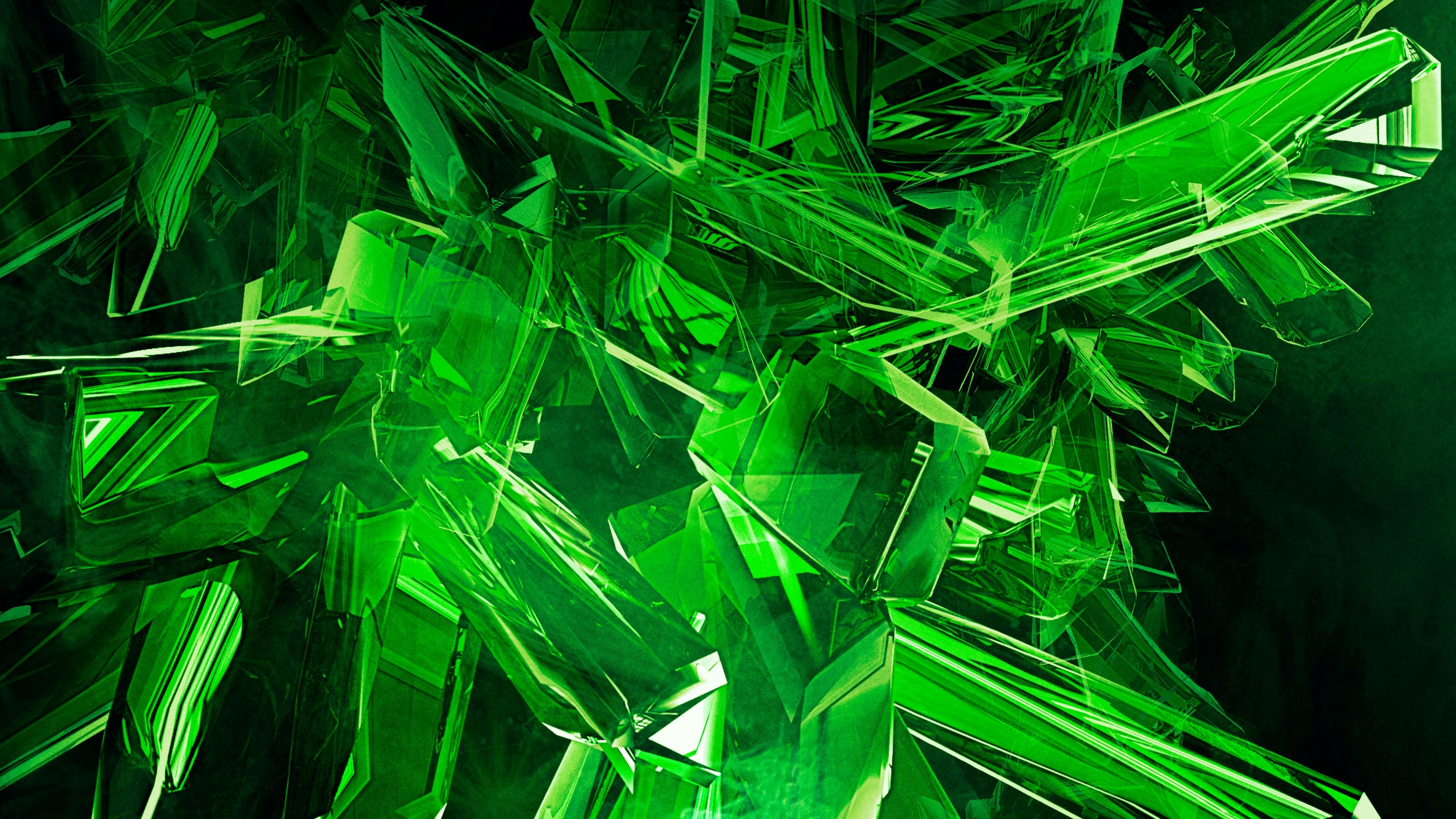 Image Green View Abstract Gems Cool HD Wallpapers | cats