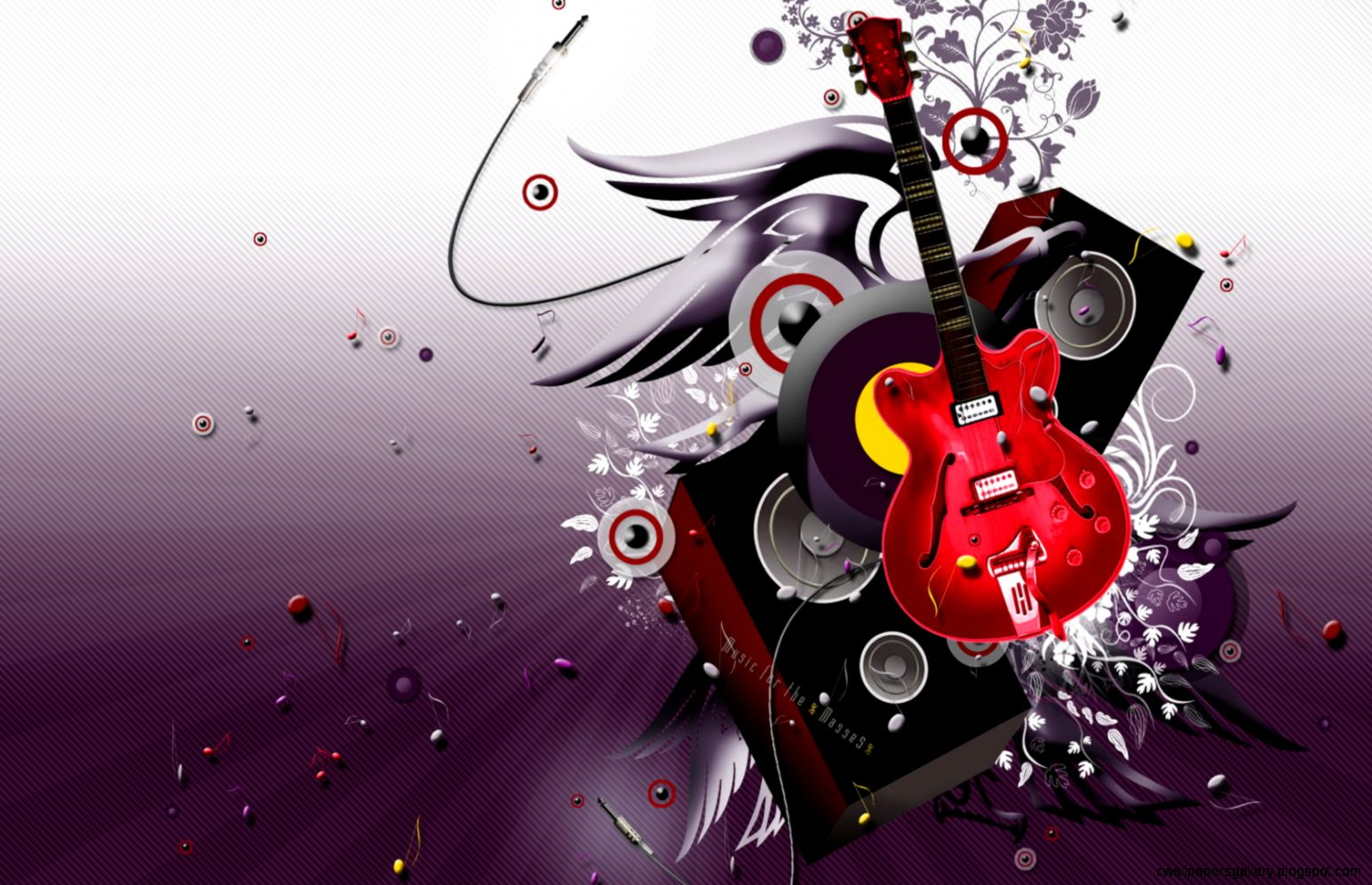 Cool Music Abstract Wallpaper Designs | Wallpapers Gallery