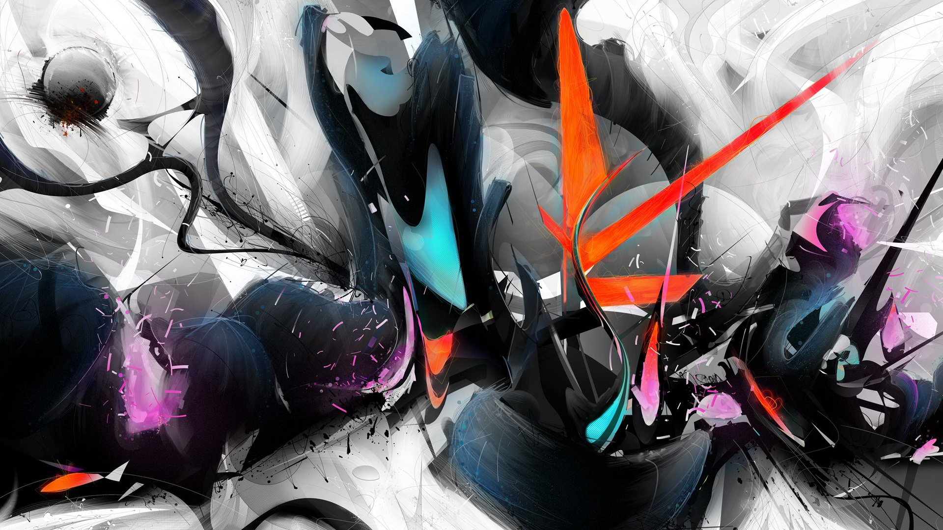 Cool 3D Abstract Full HD Wallpaper 136 - Amazing Wallpaperz