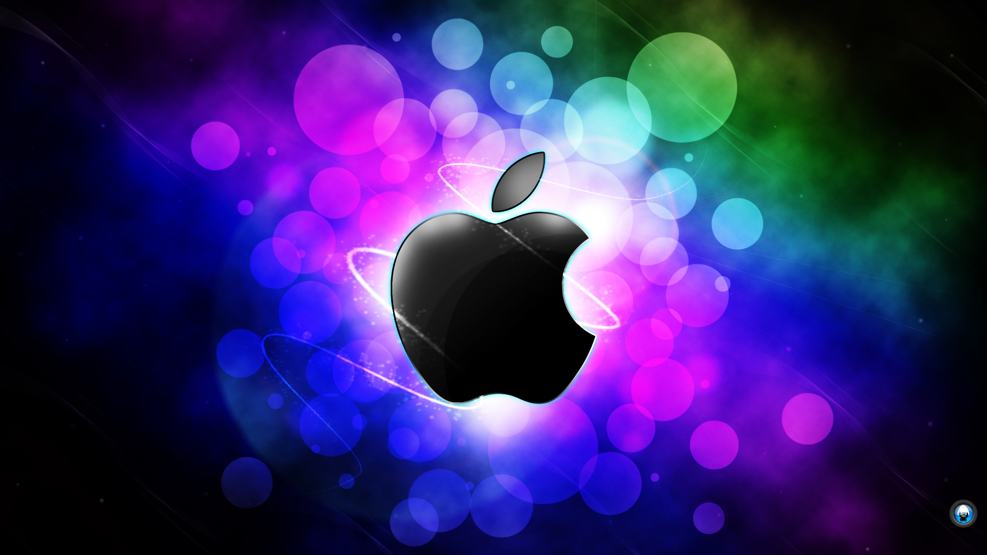 Cool Apple Logo Wallpaper Page 1