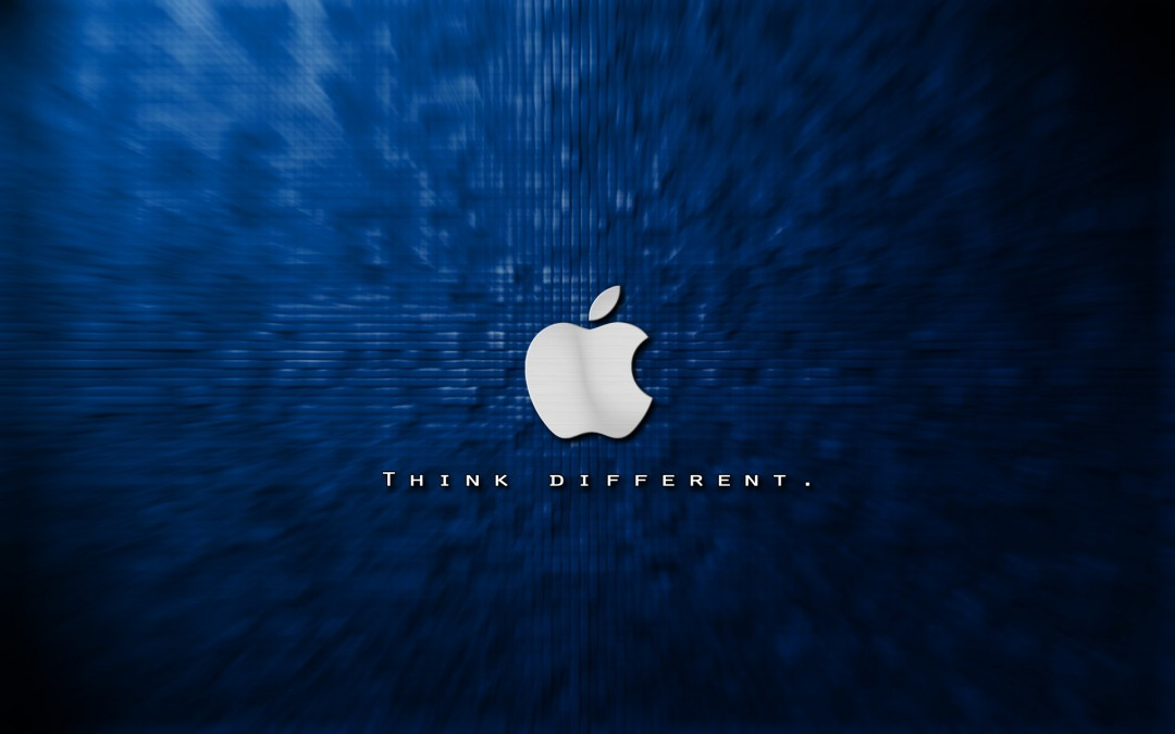 Cool Apple Logo Wallpapers Blue Hd Wallpaper | HD Wallpapers