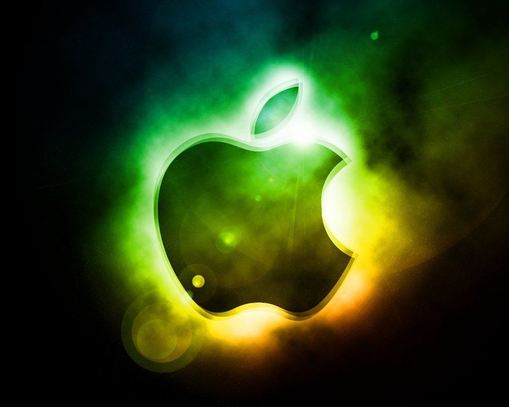 cool apple logo wallpaper #8