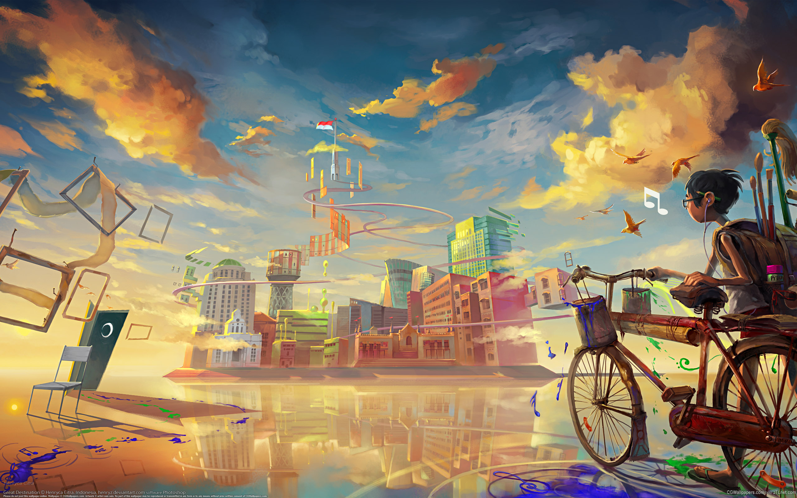 Collection of Cool Artistic Backgrounds on HDWallpapers