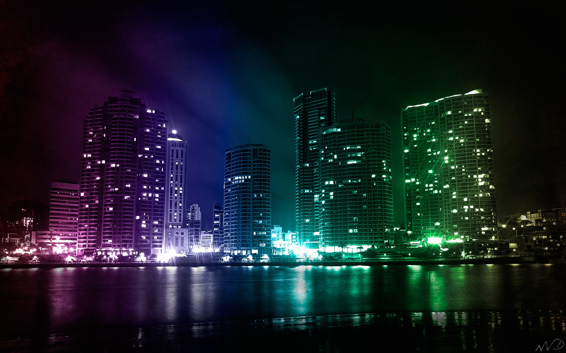 Cool City Wallpapers - WallpaperSafari