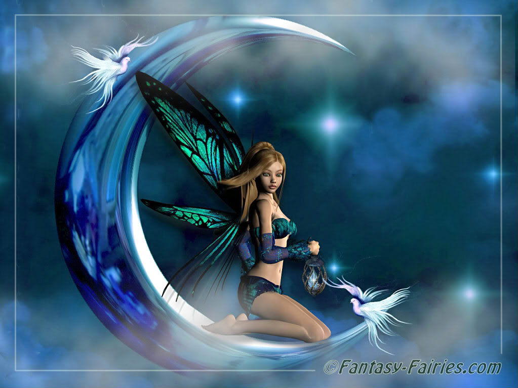 Breathtaking Moon Fairy Wallpaper Fairies Full Size Image