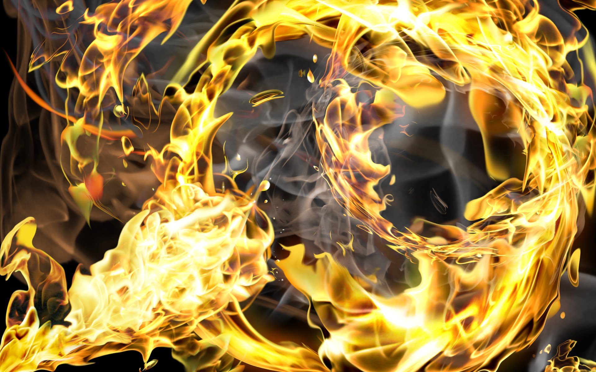 Cool Fire Wallpaper HD Resolution - Mytwiink com