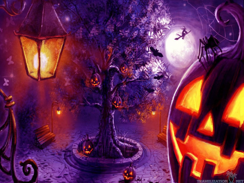 Totally Scary Halloween Wallpapers | Travelization