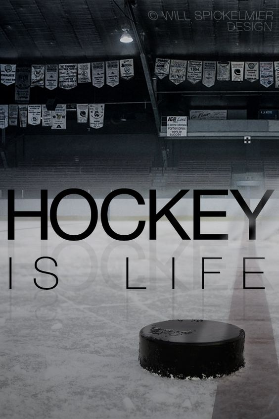 Hockey Is Life I've wanted to make a hockey wallpaper for my phone
