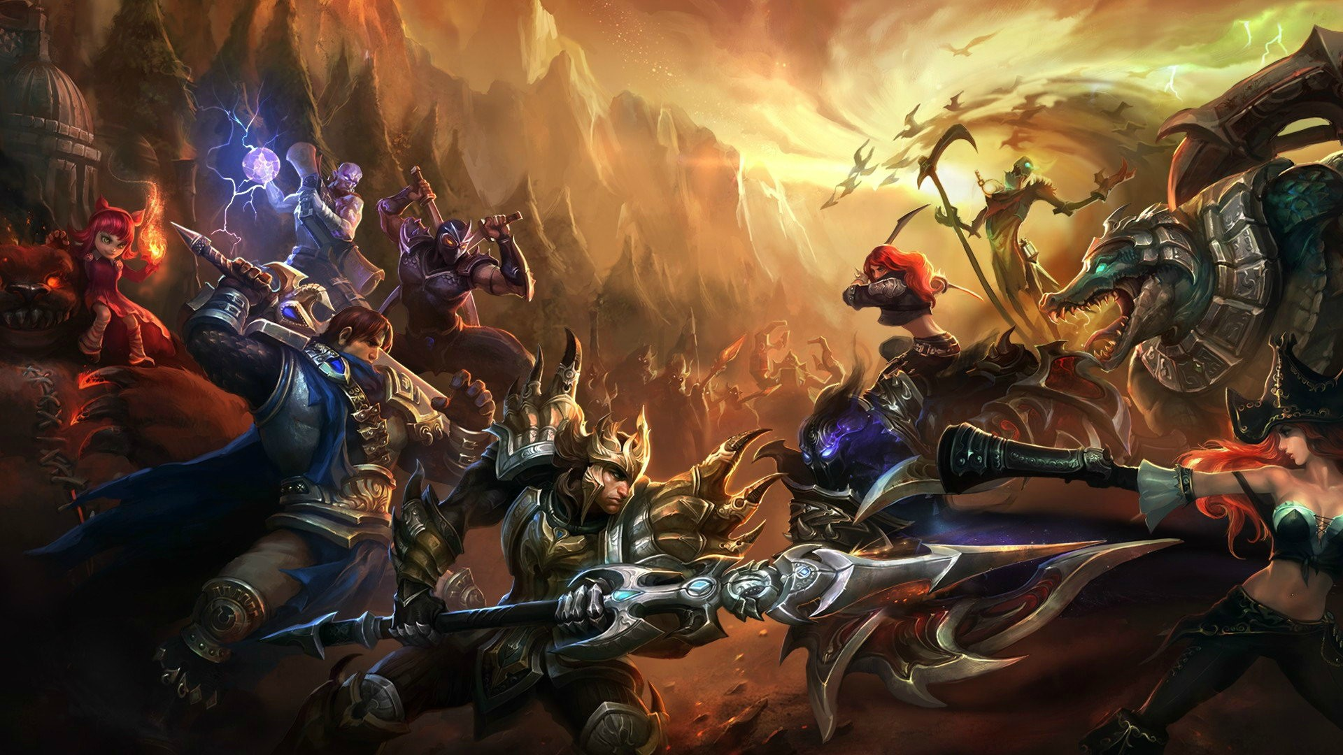 40 Best League of Legends Champion Wallpapers - DigitalArt io