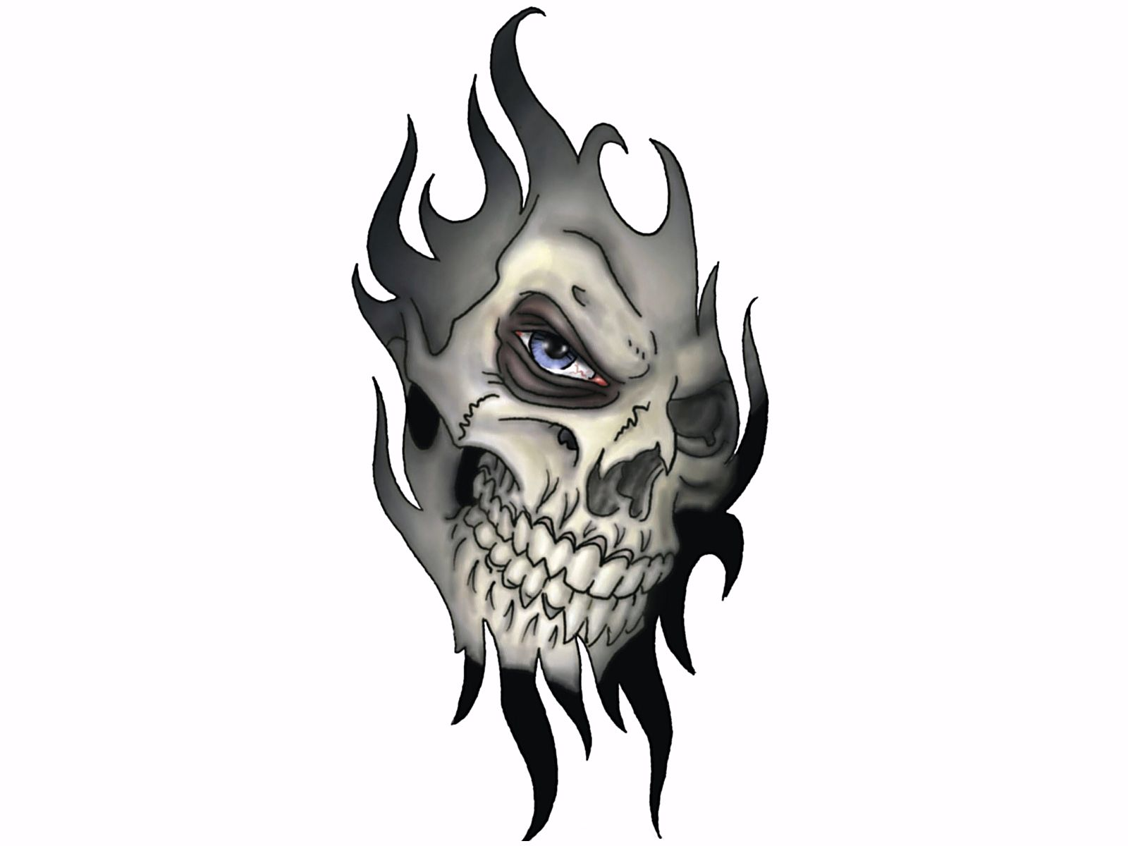 cool skull pictures | http://www stuffkit com | Bad A