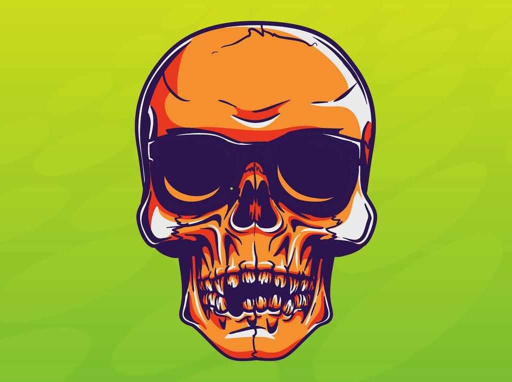Cool Skull Vector Vector Art & Graphics | freevector com