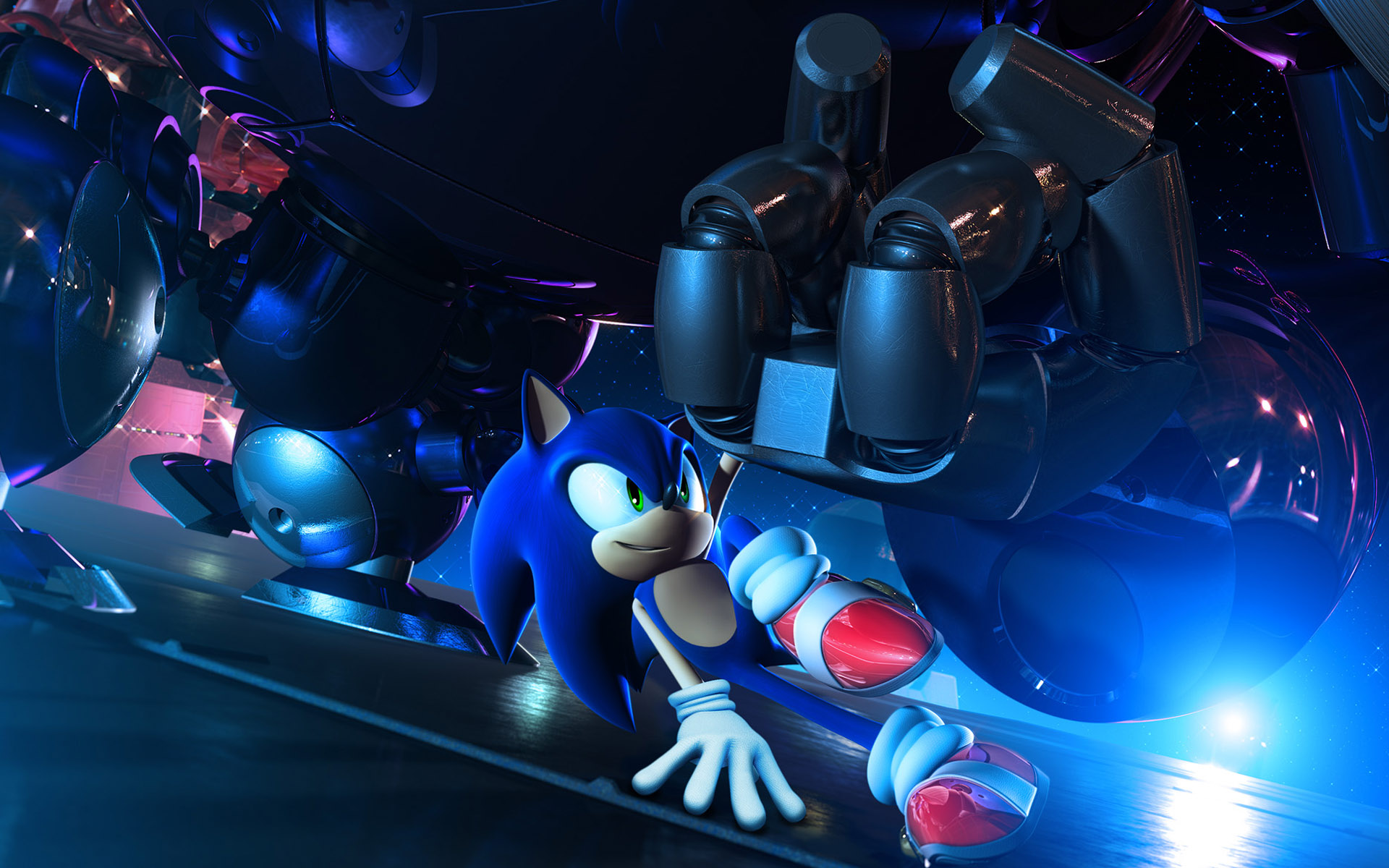 Cool Sonic Wallpaper Page 1