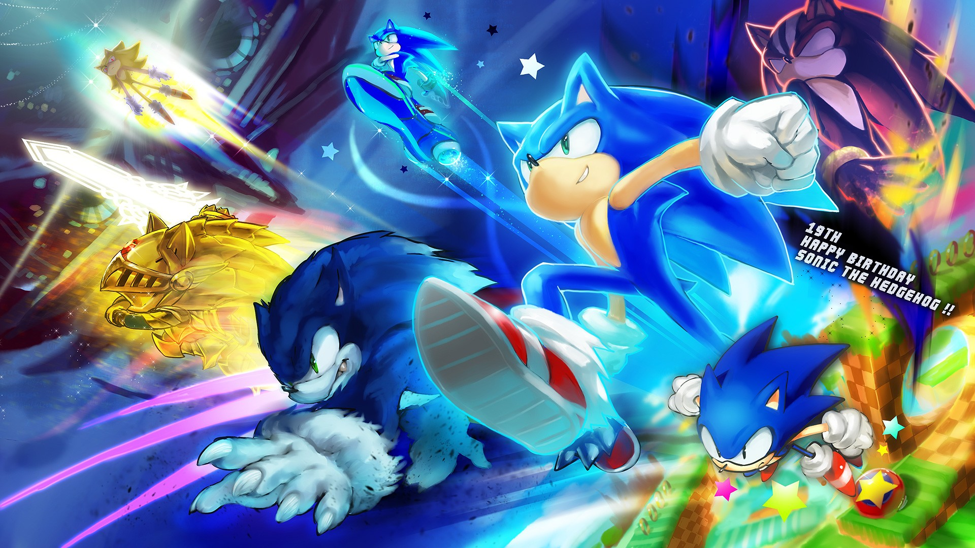 247 Sonic The Hedgehog HD Wallpapers | Backgrounds - Wallpaper Abyss