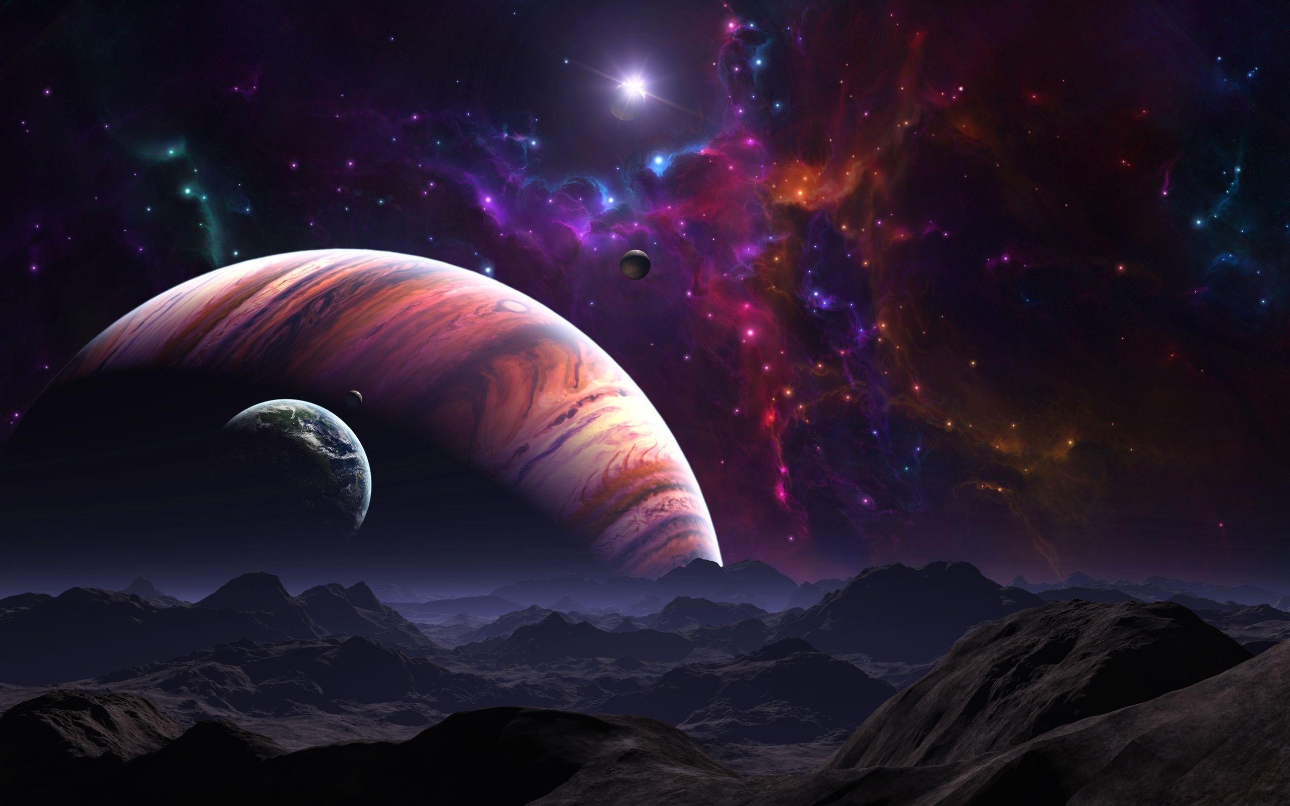 Cool Space Wallpaper - WallpaperSafari