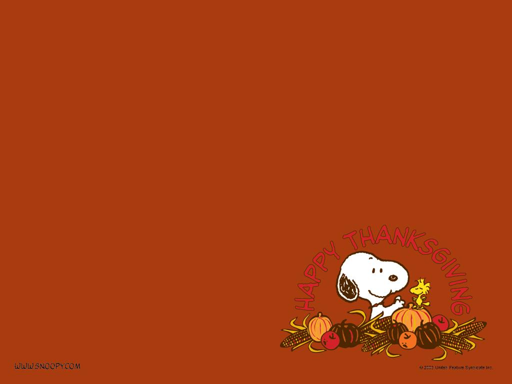 snoopy thanksgiving wallpaper - sf wallpaper