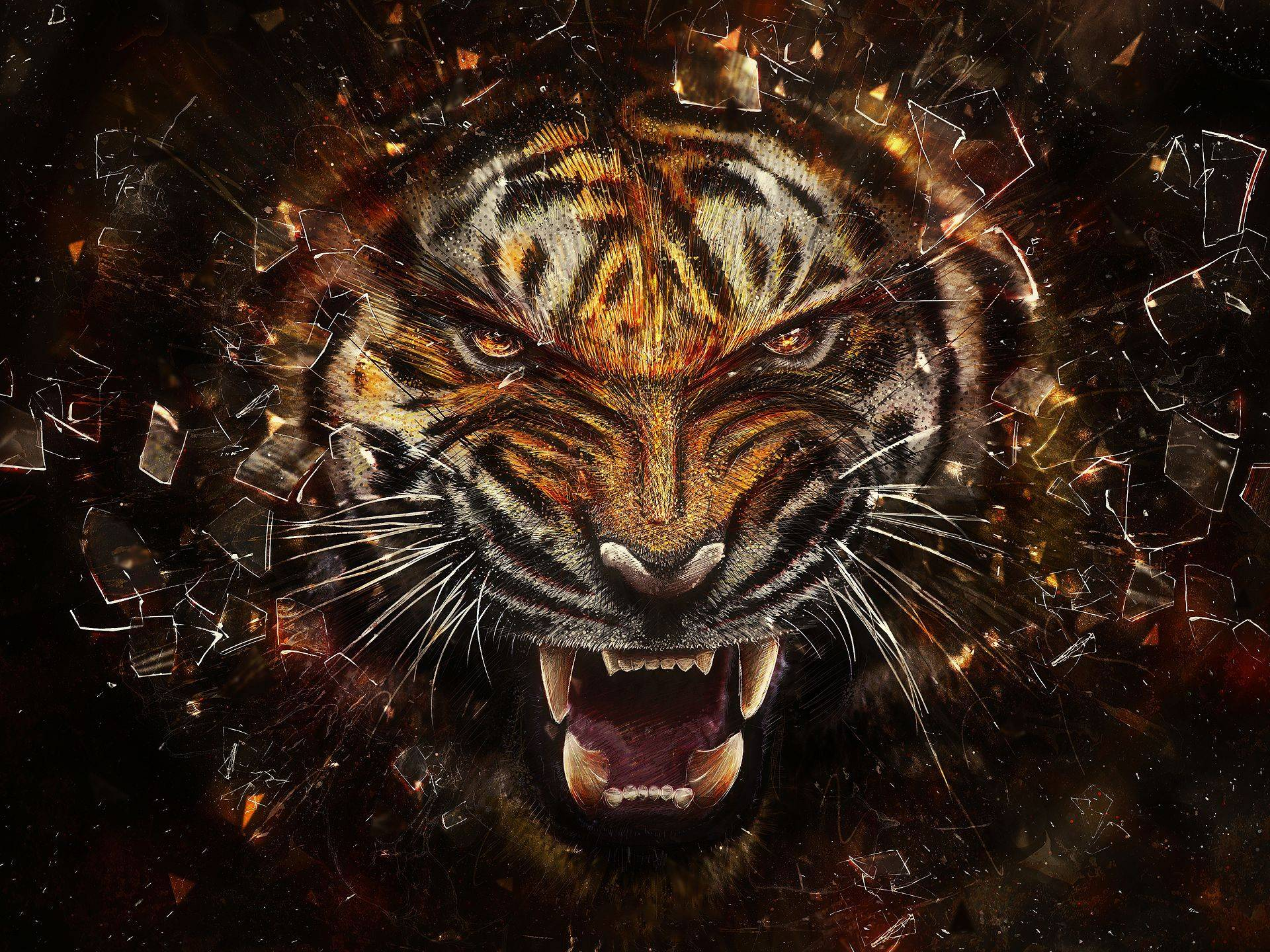Cool Tiger Backgrounds - Wallpaper Cave