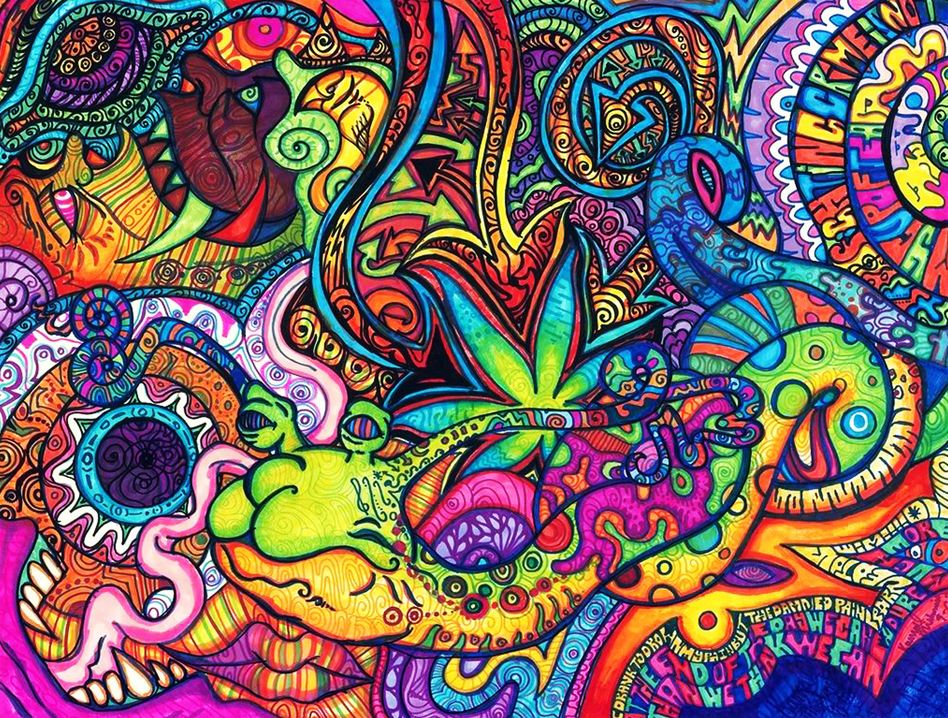 537 Psychedelic HD Wallpapers | Backgrounds - Wallpaper Abyss