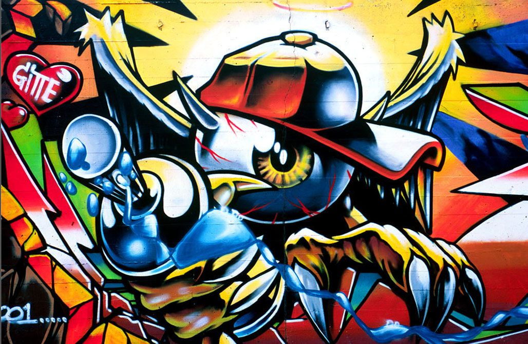 Collection of Cool Graffiti Wallpaper on HDWallpapers