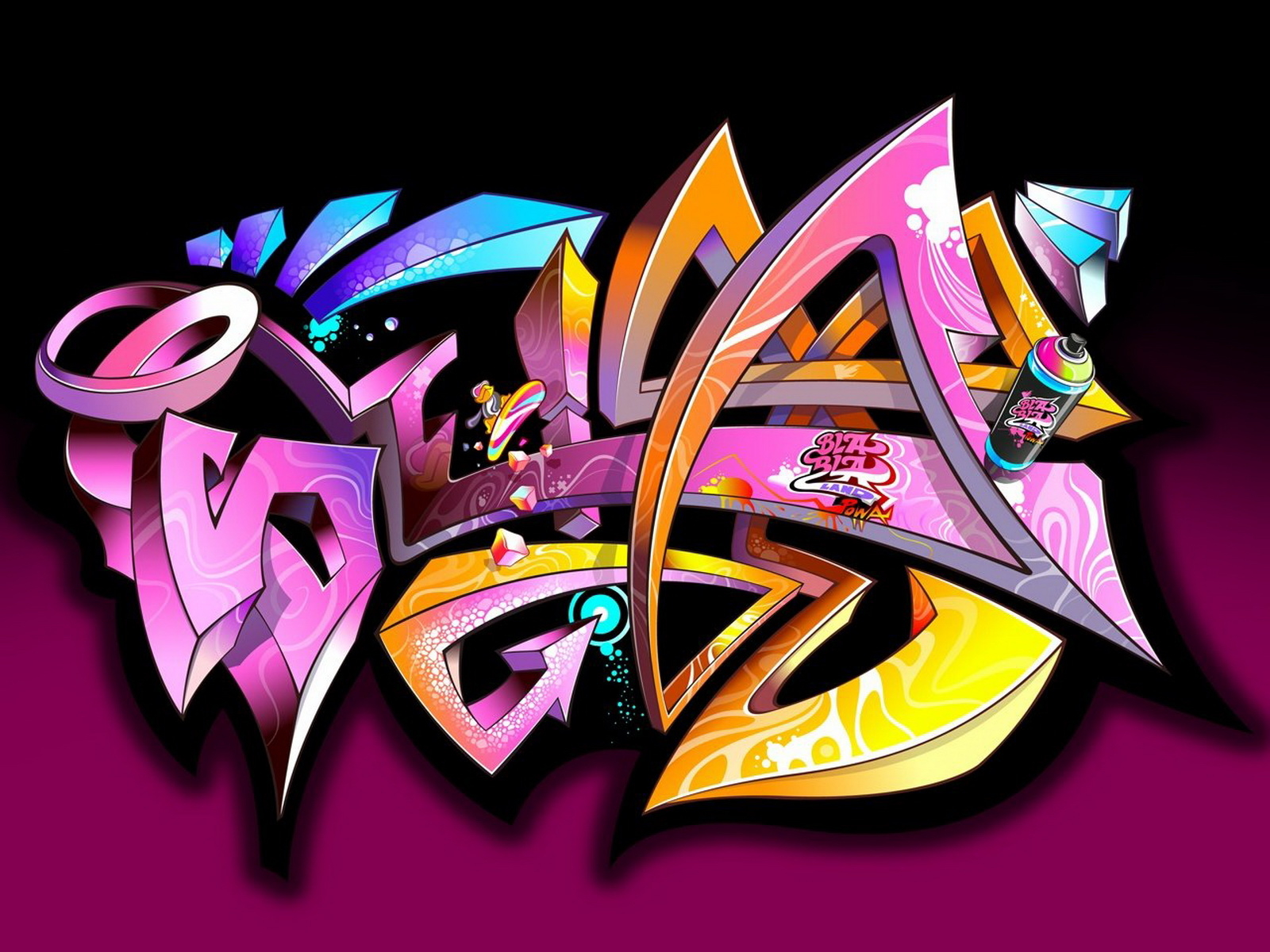 1000+ ideas about Graffiti Wallpaper on Pinterest | Graffiti room
