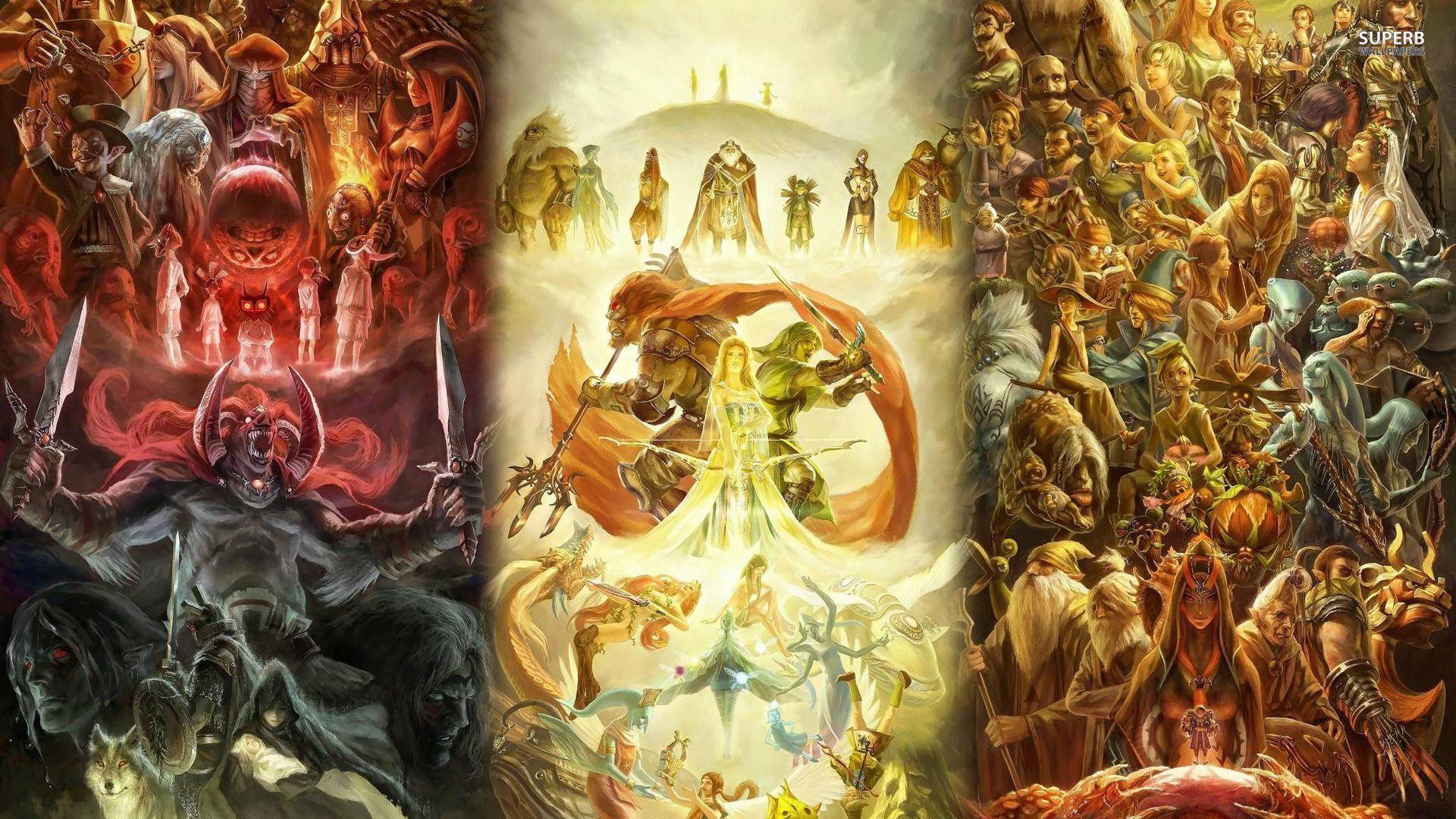 The Legend Of Zelda Wallpapers - Wallpaper Cave