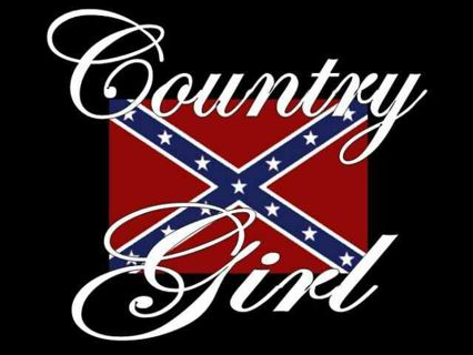 Free: Rebel 'Country Girl' Digital Wireless Wallpaper - Cell Phone