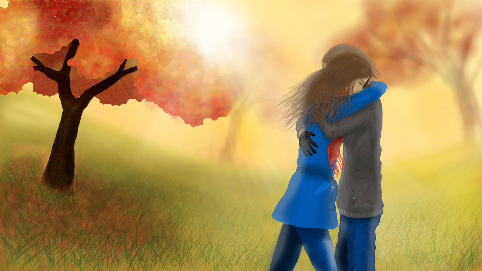 couple hug wallpaper download - sf wallpaper