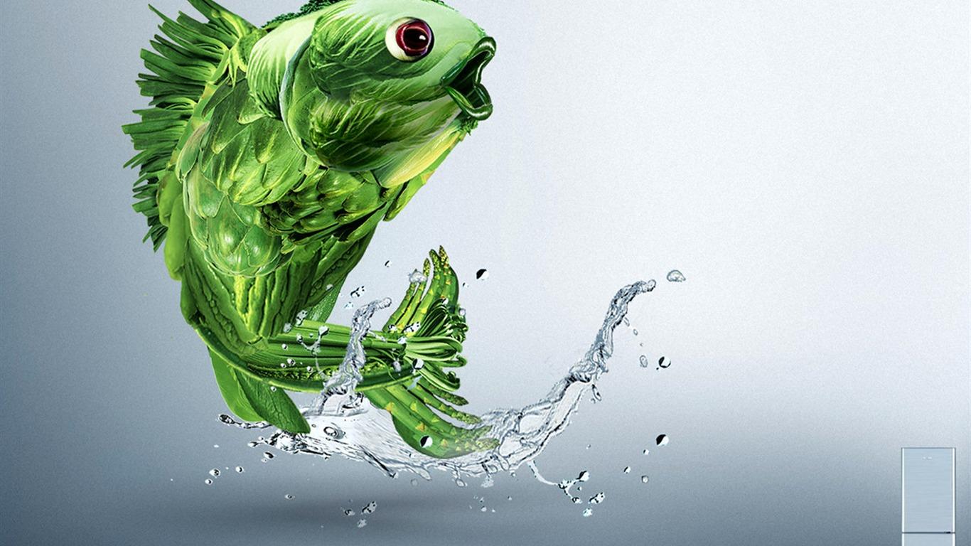 Super creative design wallpaper #16 - 1366x768 Wallpaper Download