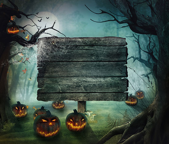 Scary Halloween Background Images - WallpaperSafari