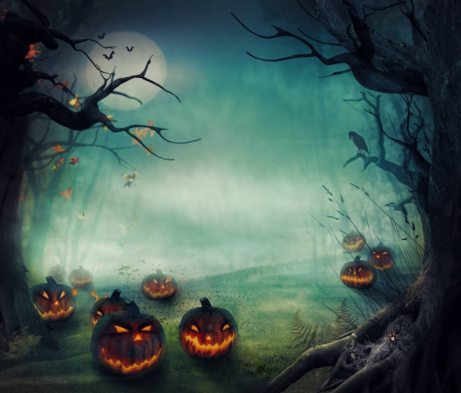 Creepy Halloween Backgrounds Group (64+)