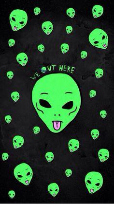 Wallpaper alien | Alien | Pinterest | Aliens, Spaces and Pew pew