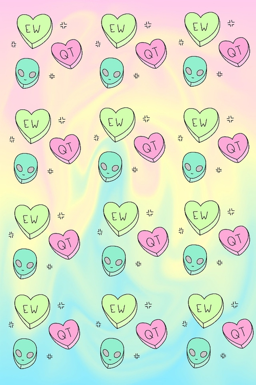 Cute Alien Wallpaper Page 1