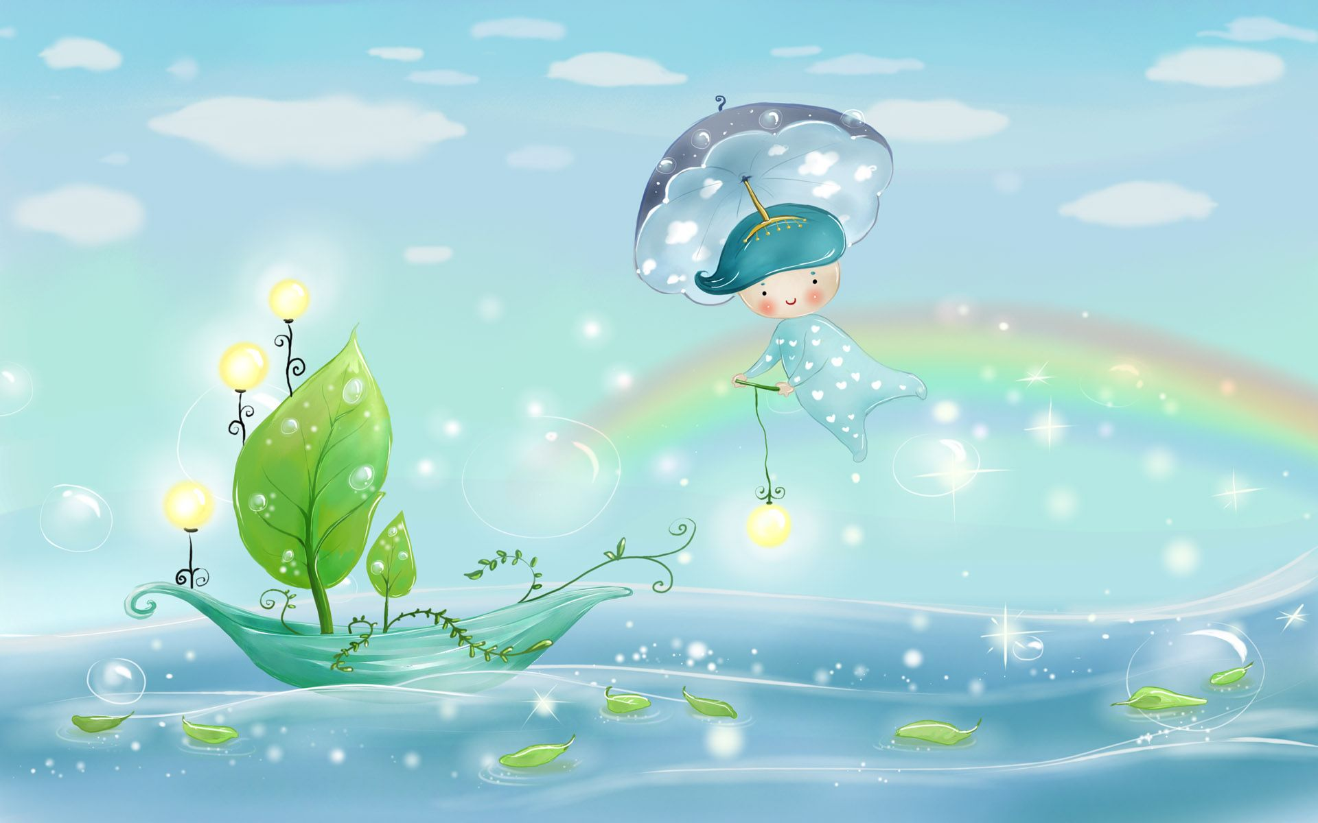 Collection of Cute Animated Backgrounds on HDWallpapers