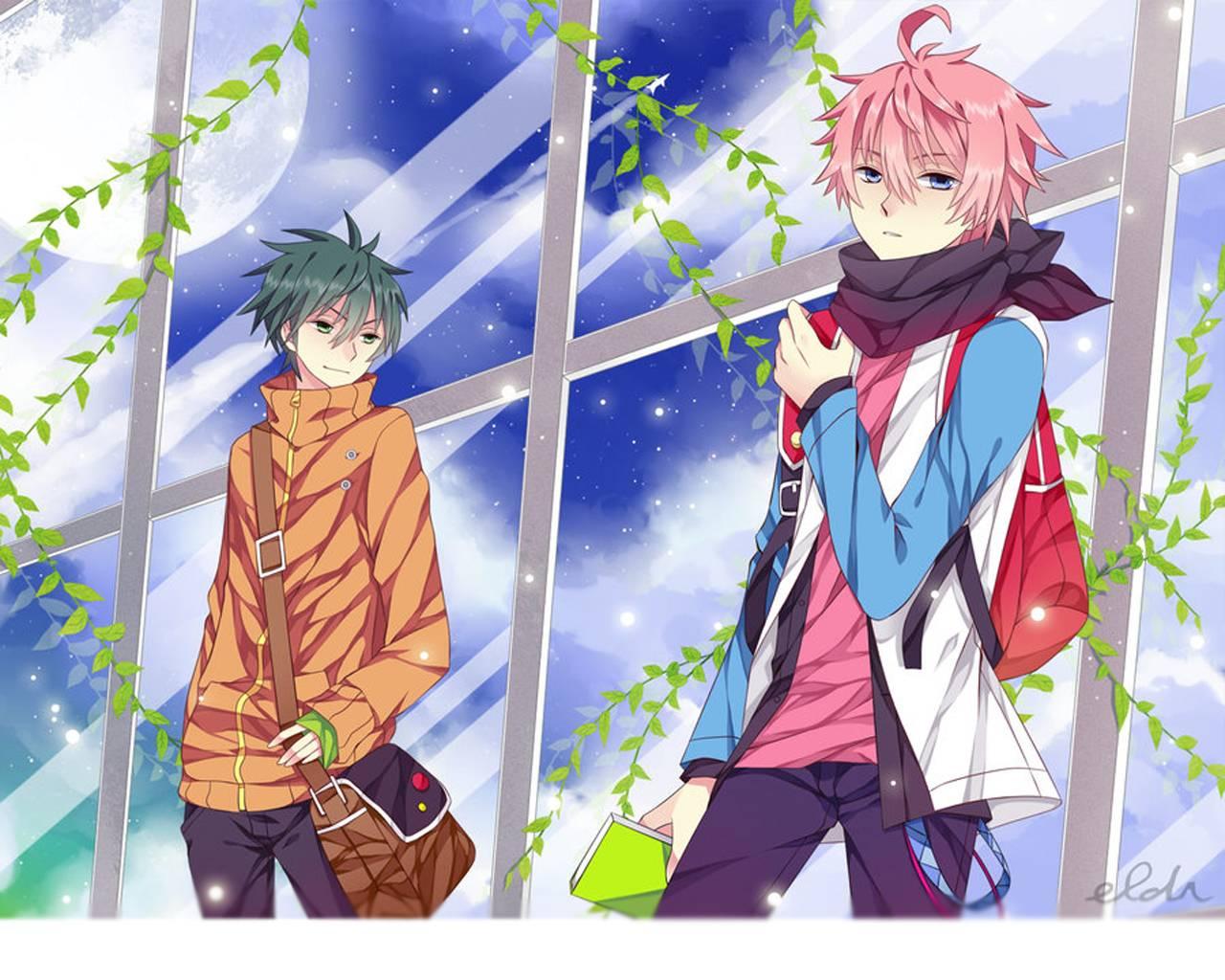 Cute Anime Boy Wallpaper - WallpaperSafari