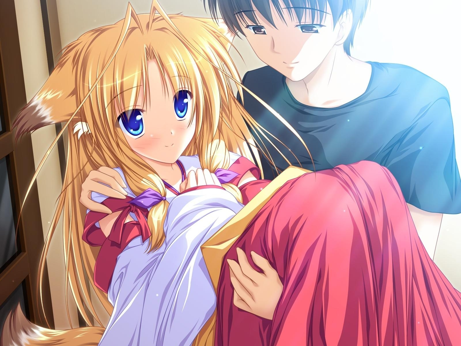 Cute Anime Couple HD Wallpapers | PixelsTalk Net