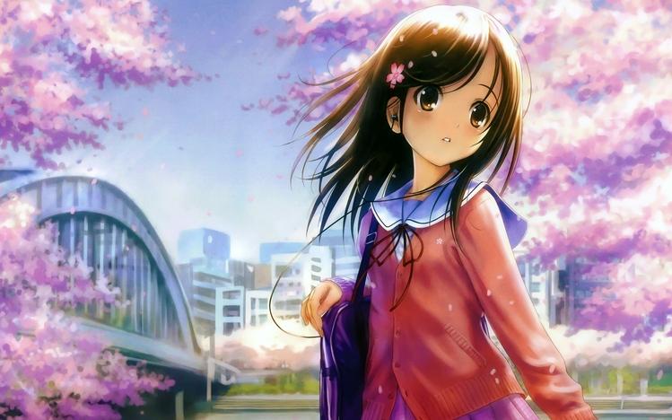 Cute Anime Windows 10 Theme - themepack me