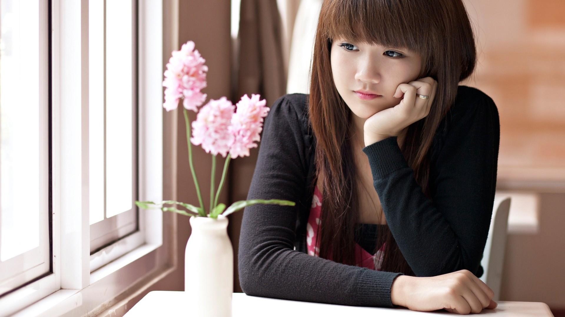 Cute Asian Girl Wallpaper #7021498