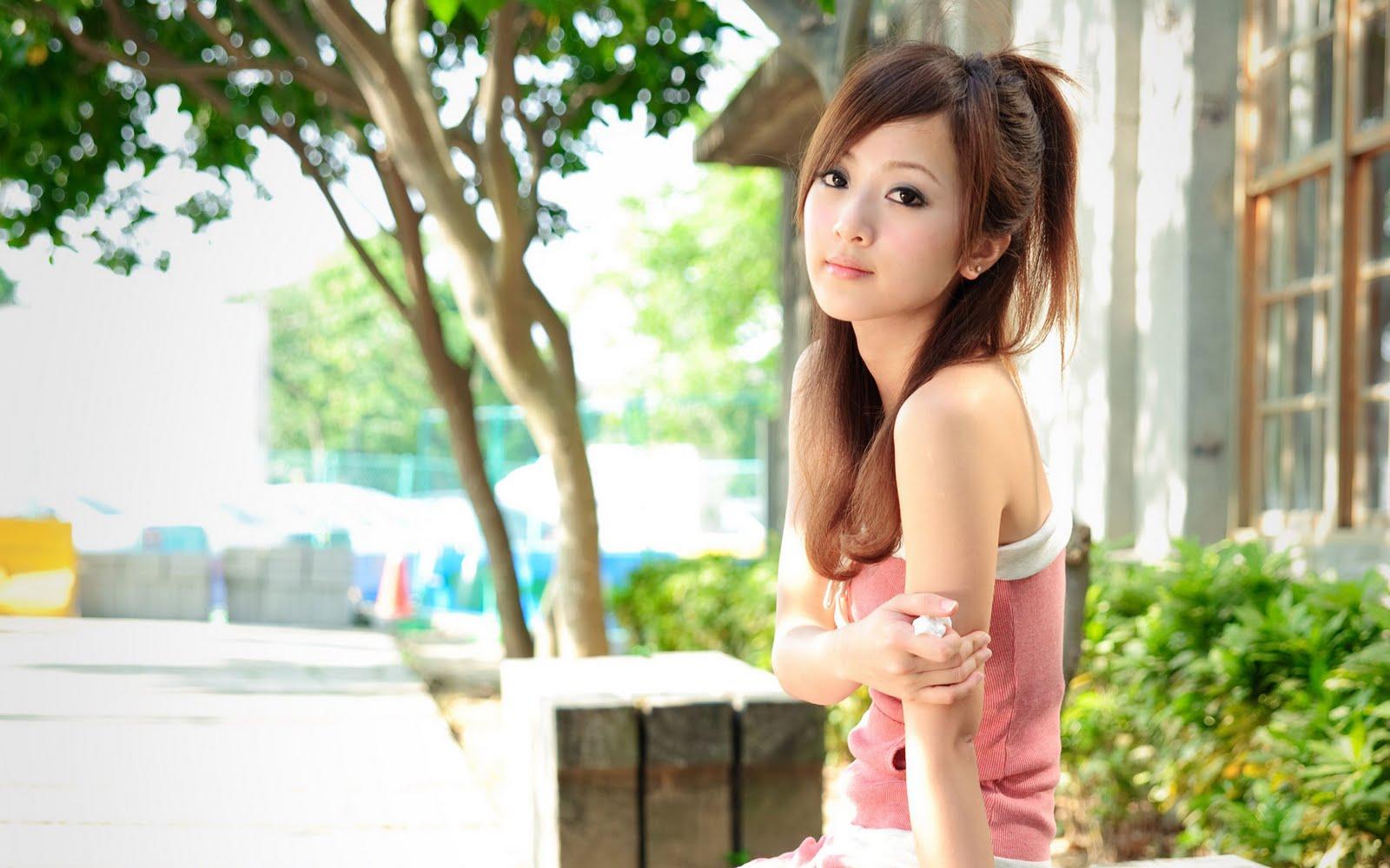 cute asian girls wallpaper - sf wallpaper