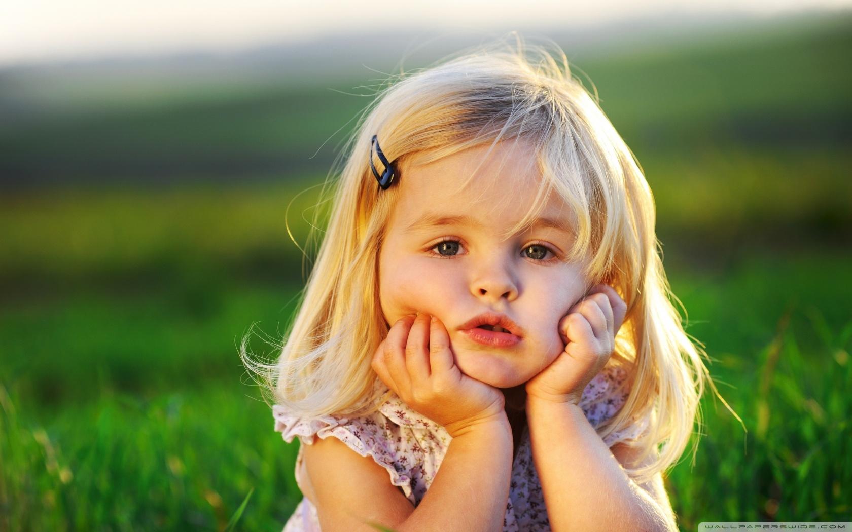 Cute Baby Girl HD desktop wallpaper : High Definition : Fullscreen