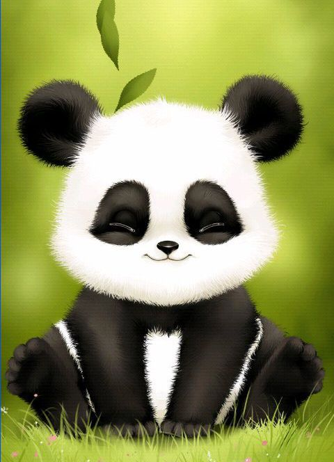 17+ images about Panda wallpapers on Pinterest | Apps, Pale pink