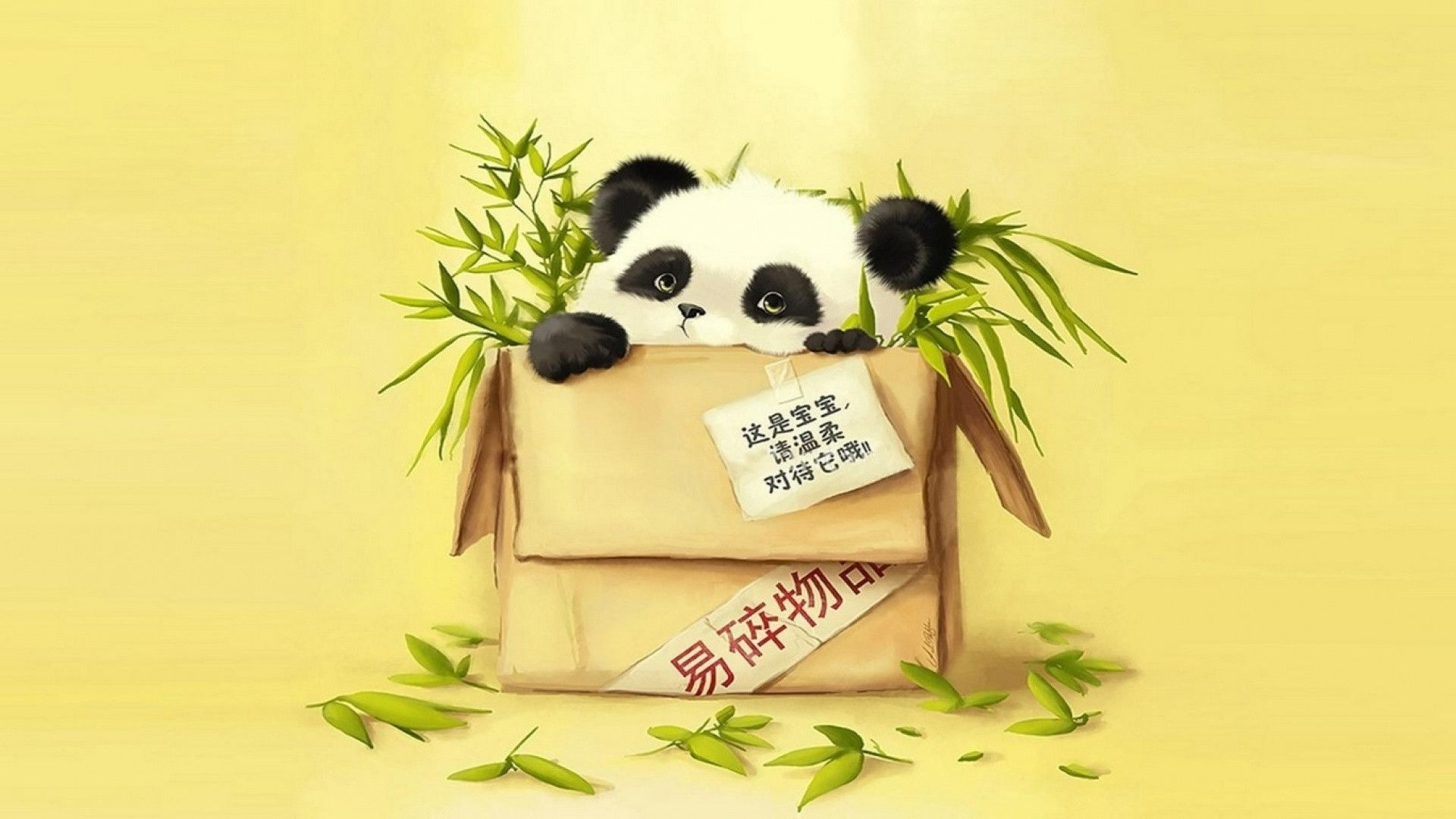 Cartoon Panda Wallpapers - Wallpaper Cave