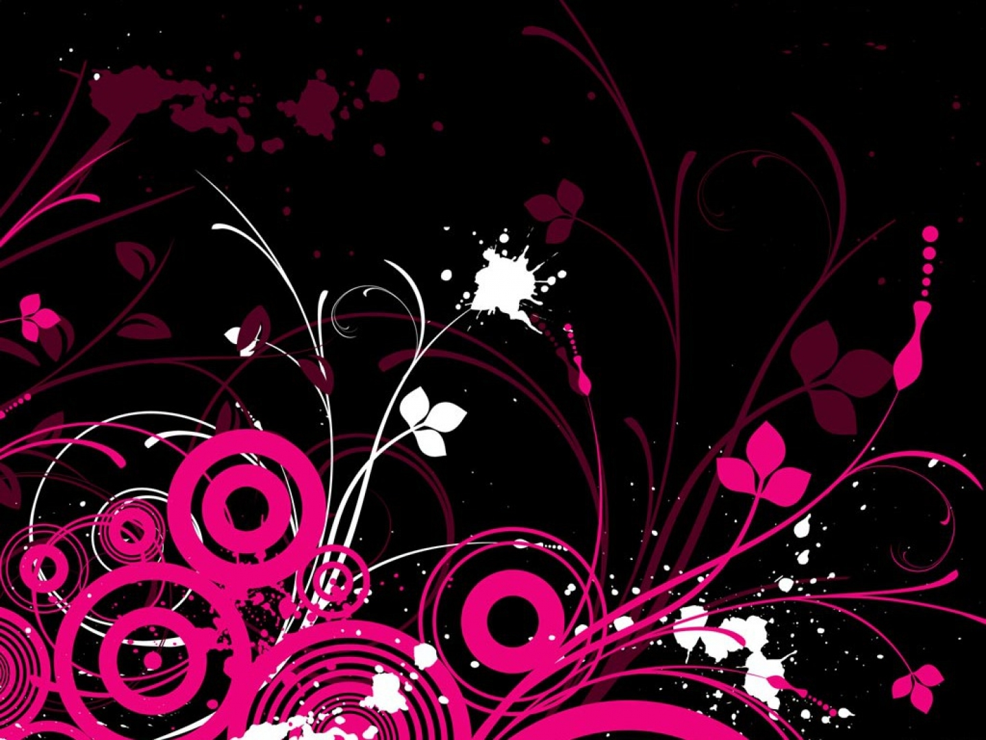 Cute Black and Pink Wallpaper - WallpaperSafari