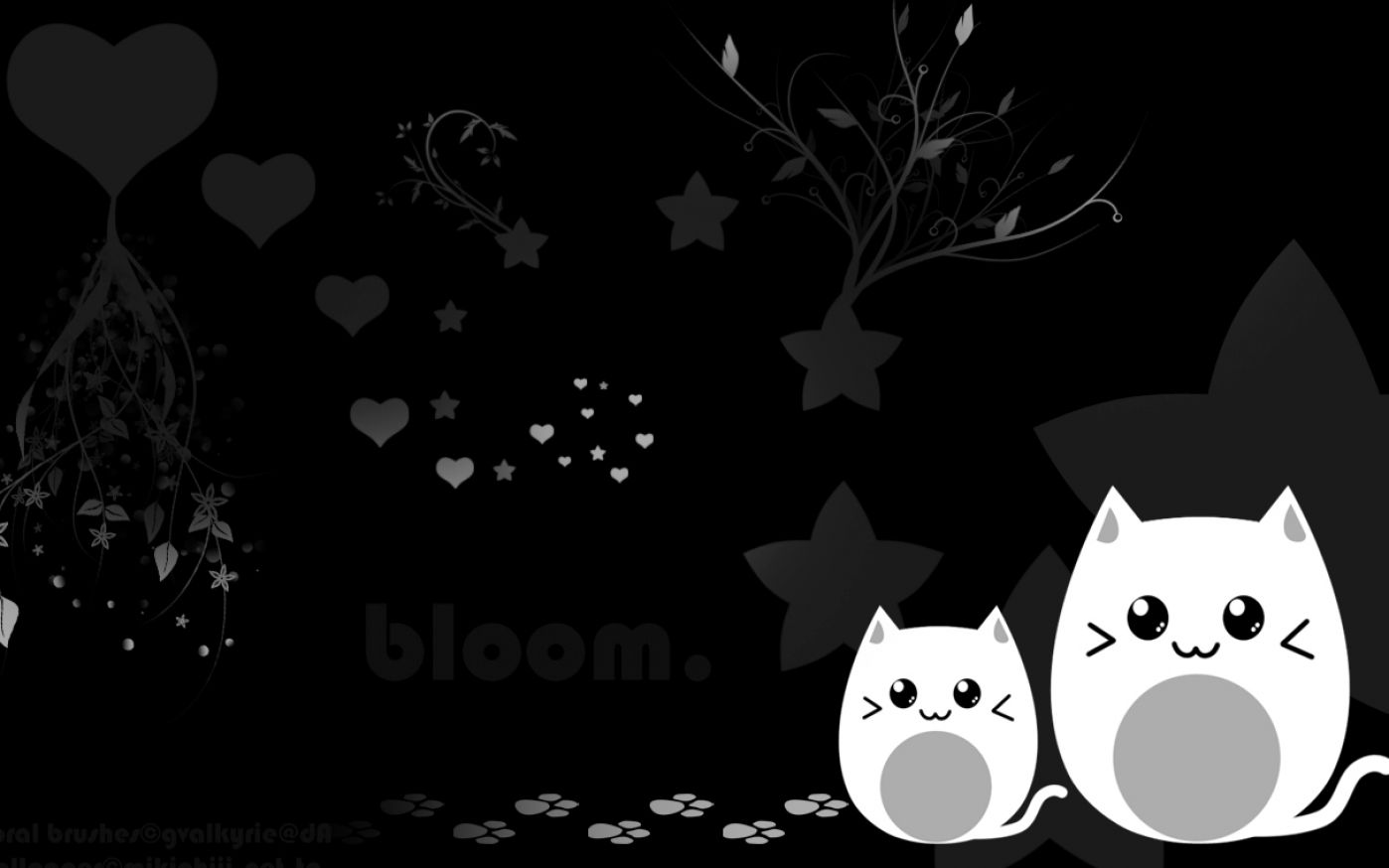 Cute Black Wallpapers - Wallpaper Cave