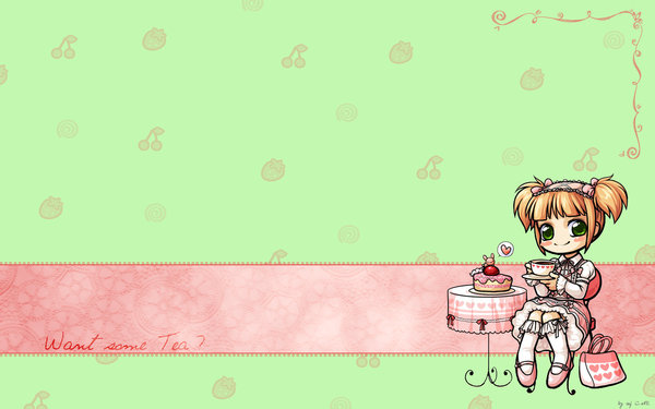 Cute Chibi Wallpaper - WallpaperSafari