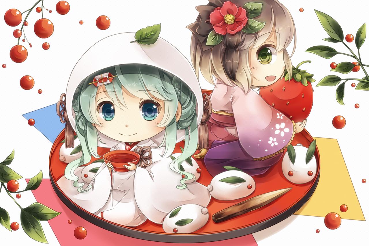 Chibi Anime Girl Wallpaper Desktop | Great Wallpapers | Chibi