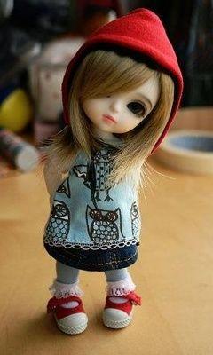 Cute doll 240 X 400 Wallpapers | mobile9 | BEBEK | Pinterest