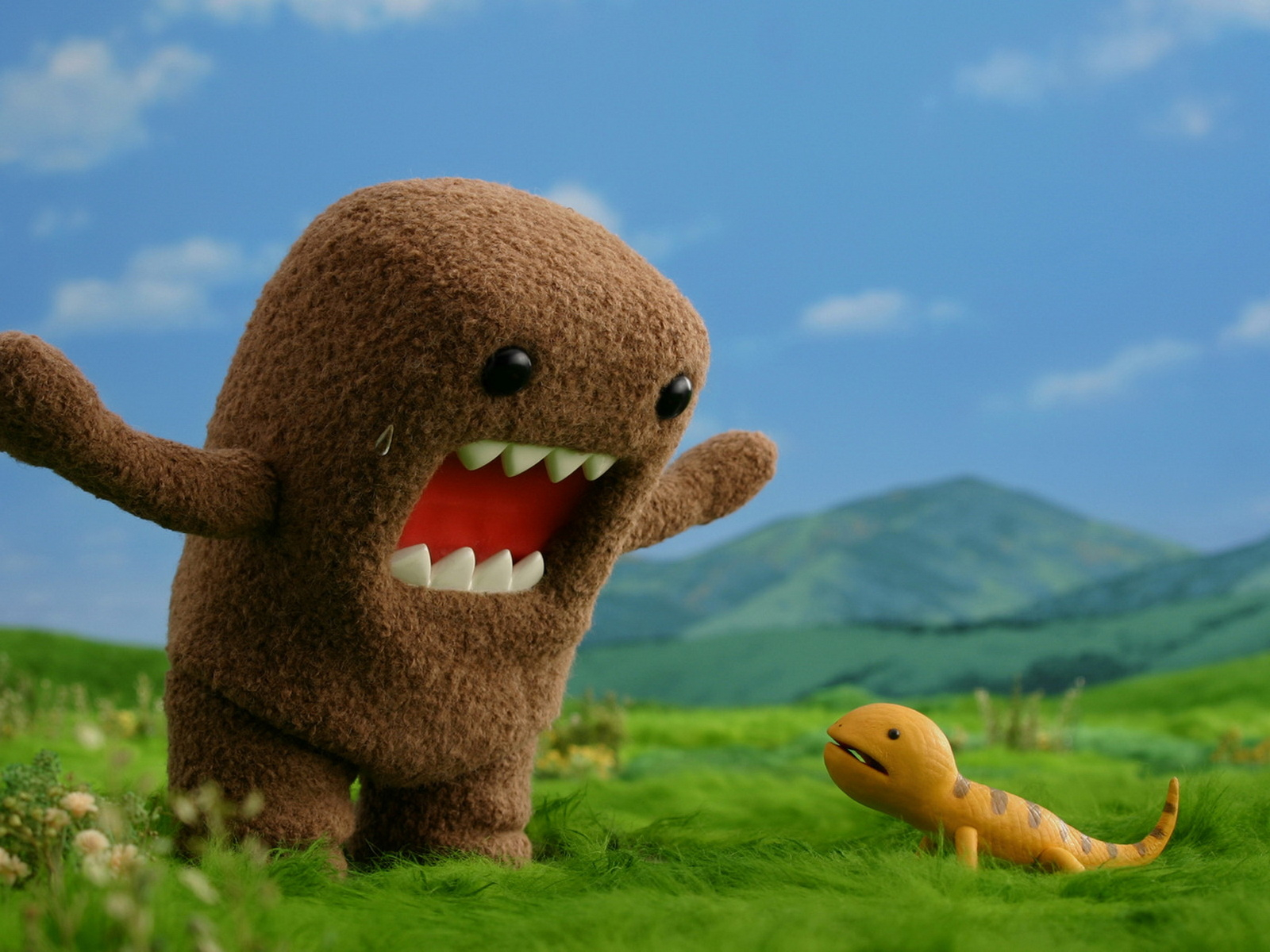 Cute Domo Wallpaper - WallpaperSafari