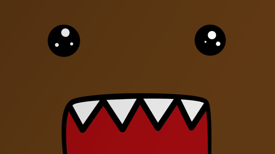 Cute Cartoon Domo Wallpaper – Free wallpaper download