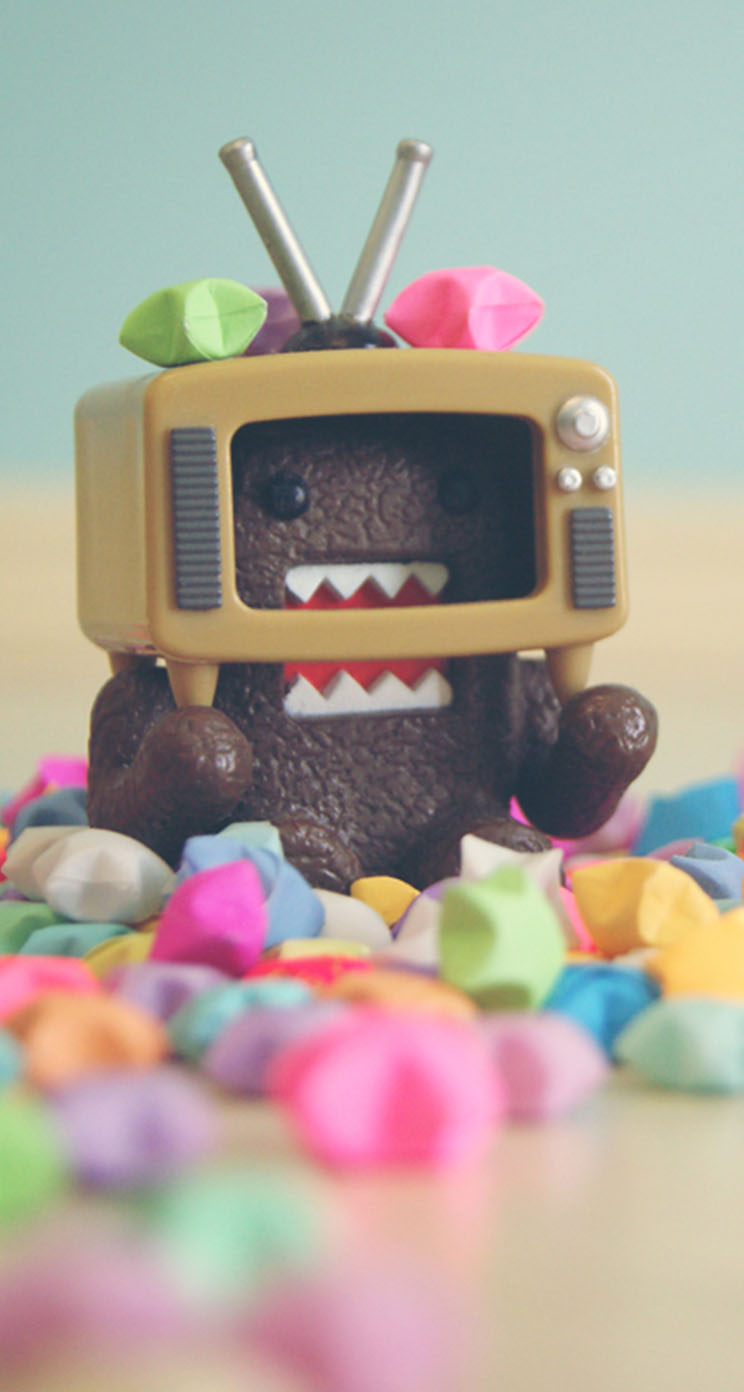 Cute Domo Kun - The iPhone Wallpapers