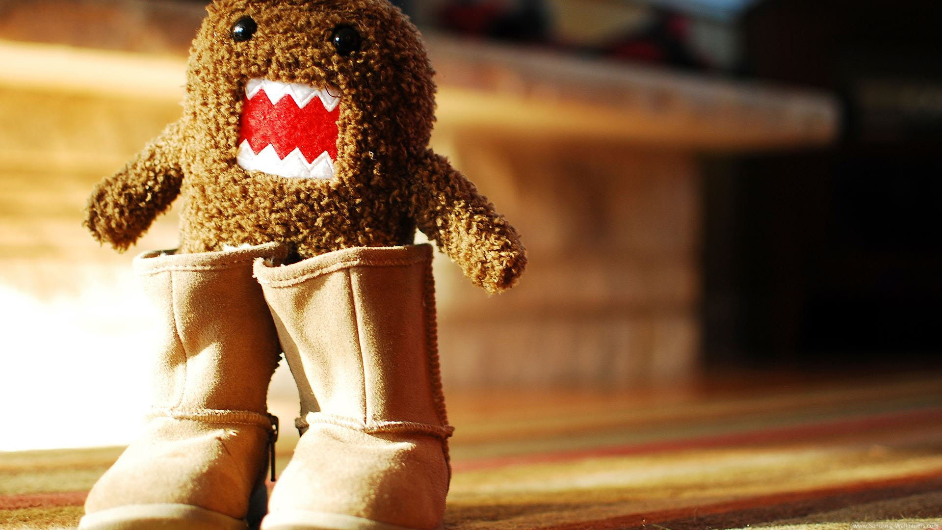 Cute Domo Wallpaper